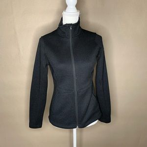 Spyder black fleece jacket
